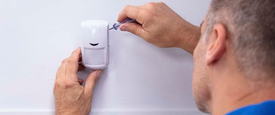 Insstalación detector cableado alarma